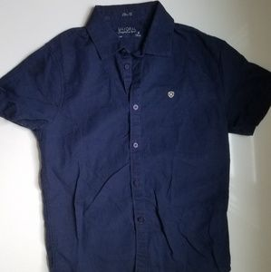 Mayoral Navy Button Down